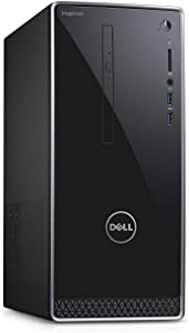 Dell Inspiron 3668 Intel i3-7100 3.9GHz, 8GB DDR4, 128GB SSD+1TB HDD, DVDRW, Bluetooth, HDMI, 802.11bgn, MaxxAudio, Win 10 (Renewed)