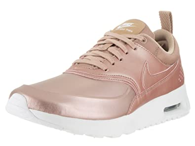 nike air max thea rose gold metallic