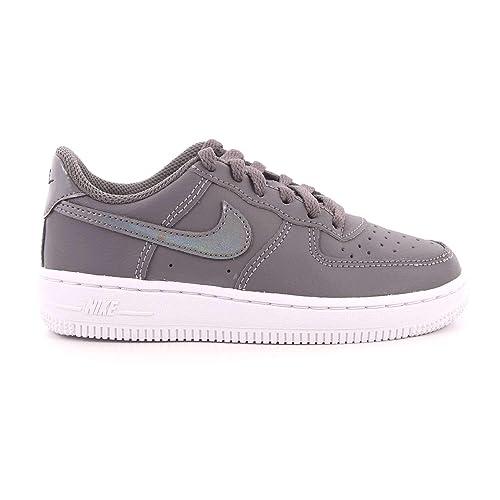 Nike Force 1 (PS), Zapatillas para Niñas, Gunsmoke/White 001, 28 EU: Amazon.es: Zapatos y complementos