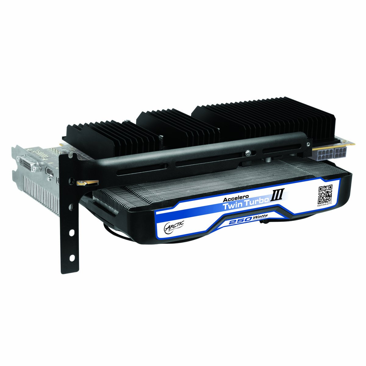 ARCTIC Accelero Twin Turbo III Graphics Card Cooler with Backside Cooler for Efficient RAM, VRM Cooling and VGA Cooler DCACO-V820001-GBA01 by ARCTIC (Image #7)