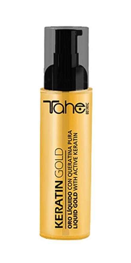 Tahe Botanic acabado – Queratina Oro, 125 ml