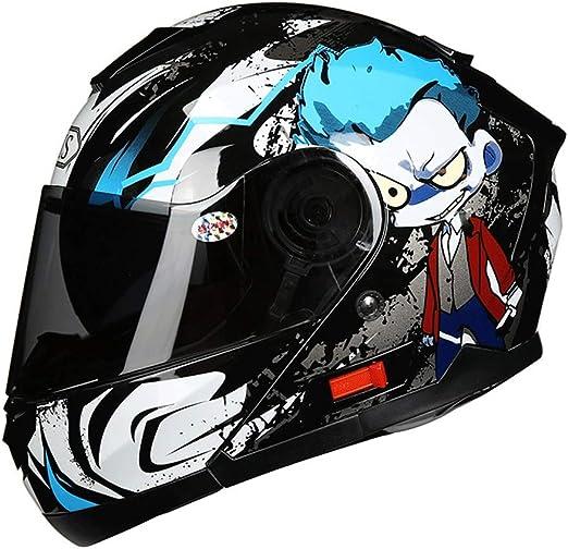 HJL Material ABS Casco aerodinámico Diseño Casco de Motocicleta ...