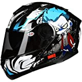 AGV Casco Moto Compact ST E2205 Multi plk, Seattle Matt BlueWhiteRed, XS