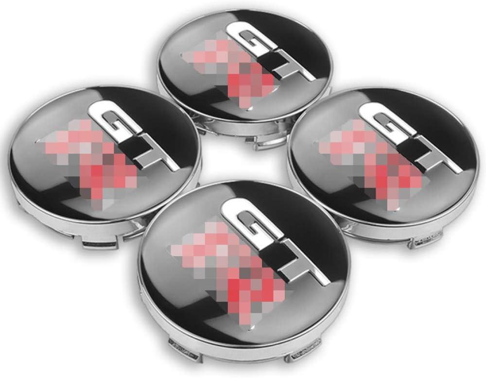 RelaxToday 4pcs 56mm 60mm GTR Wheel Center Hub Caps Car Emblem Badge Logo Wheel Center Cap,for Nissan