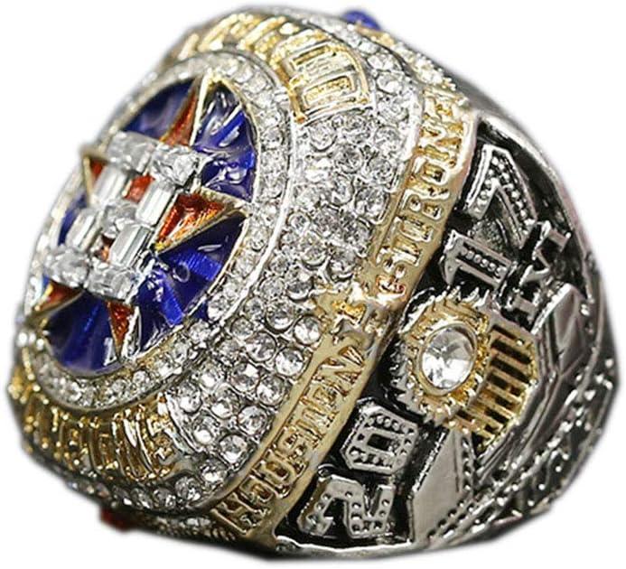 WSTYY 2017 MLB Houston Astros Championship Ring Anillos de Hombre, Championship Anillo de réplica Personalizado Anillos de Diamantes para Hombres,Without Box,12#