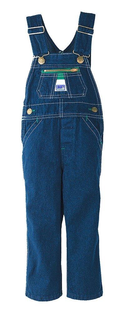 Liberty Boy's Denim Bib Overall, rigid blue 12