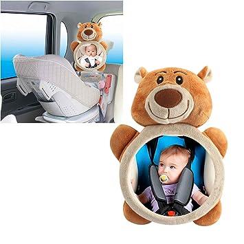 Baby-hintere Verkleidungsspiegel-Sicherheitsauto-R/ücksitz-Baby-einfache Ansicht-Spiegel n/ützliche