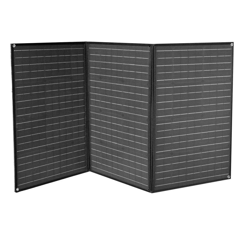XINPUGUANG 150W (3X 50W) Paneles solares plegables 12v Monocristalino Silicona Flexible Cargador Solar para 12V Batería Camper Canvan Camping Senderismo RV Carga (Nero): Amazon.es: Industria, empresas y ciencia