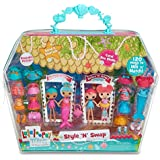 Lalaloopsy Minis Style 'N' Swap Multipack Doll- Mermaid