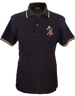 art155 Camiseta Bandera España 155 Negra: Amazon.es: Ropa y accesorios