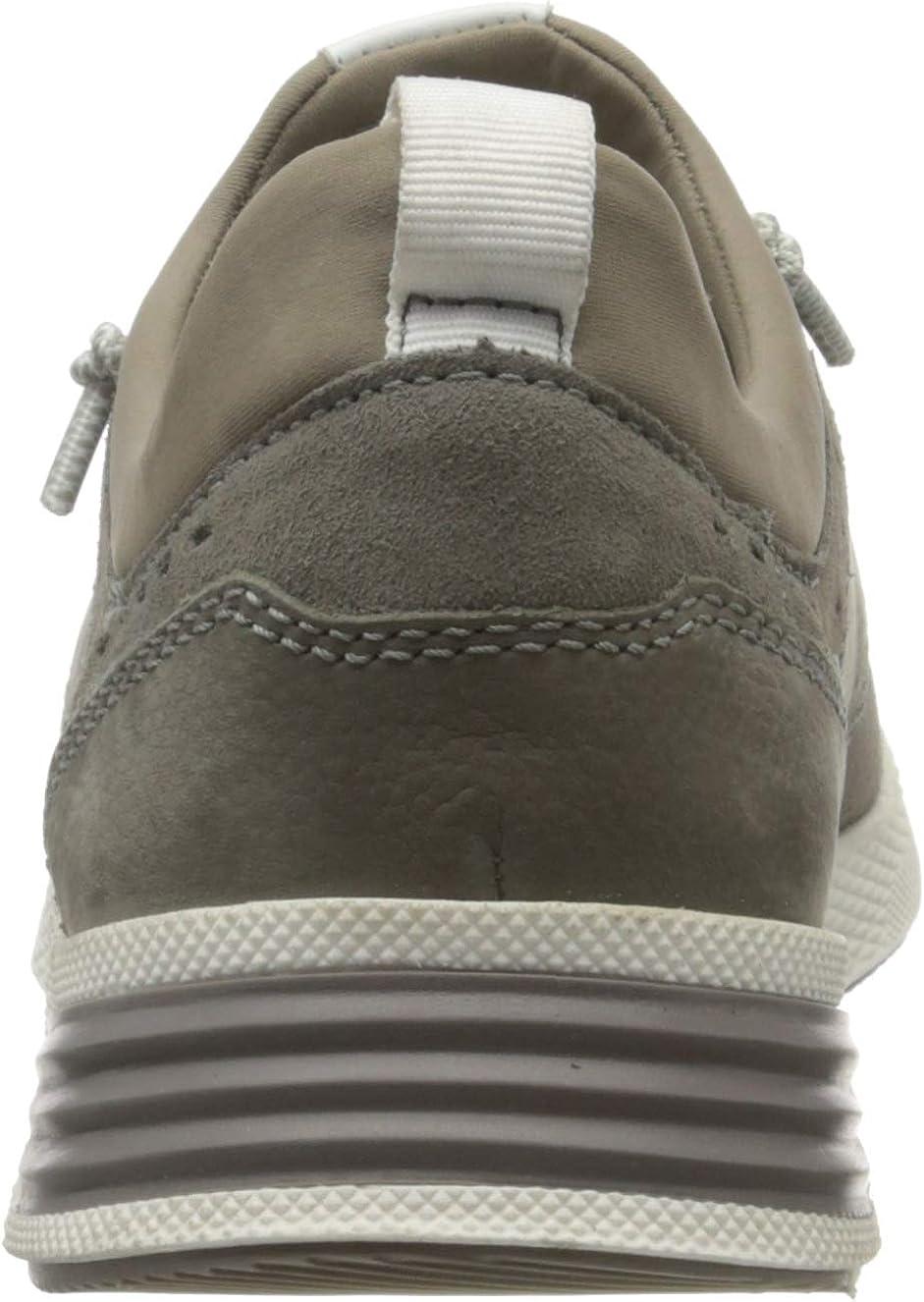 Sioux Herren Grash-h201-47 Sneaker Grau Piombo 002
