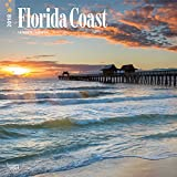 Florida Coast 2018 12 x 12 Inch Monthly Square Wall Calendar, USA United States of America Southeast State Nature (Multilingual Edition)
