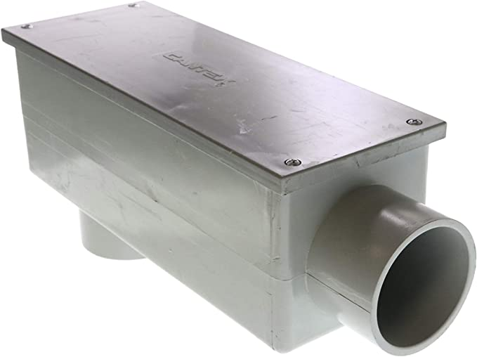 Cantex 5133669 PVC Type LB Non-Metallic Rigid Conduit Body 2-1//2 Inch