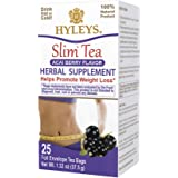 Hyleys Slim Tea Acai Berry - 25 Tea Bags (100% Natural, Sugar Free, Gluten Free and Non-GMO)