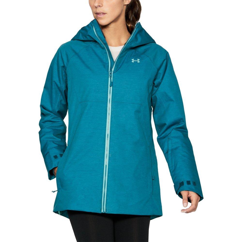 Under Armour Women's ColdGear Infrared Snowcrest Jacket, True Ink/Bayou, Small
