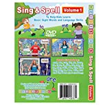 Sing & Spell Vol. 1 Animated DVD