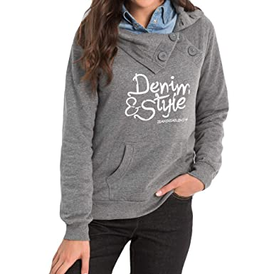313958397d338 Linkay Women Casual Long Sleeve Loose Letter Print Pullover Hoodie Blouse  Top Shirt Fashion 2018  Amazon.co.uk  Clothing
