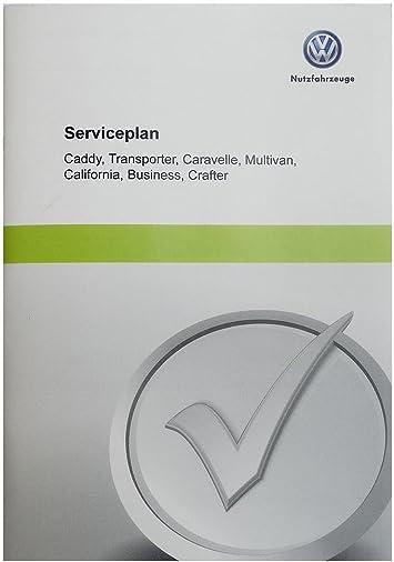 Volkswagen Original Vw Serviceplan Serviceheft Scheckheft Für Nutzfahrzeuge Auto