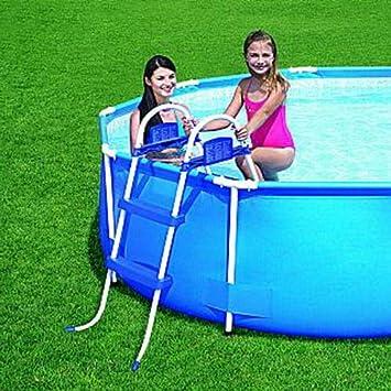 Escalera para piscina-piscinas con 2 niveles, 76 cm: Amazon.es: Electrónica