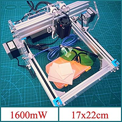 KAMOLTECH 1.6W Desktop DIY Violet Engraver Engraving Machine Picture CNC Printer Assembling Kits
