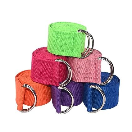 Namgiy - Cinturón elástico para Yoga, Cuerda de Yoga ...