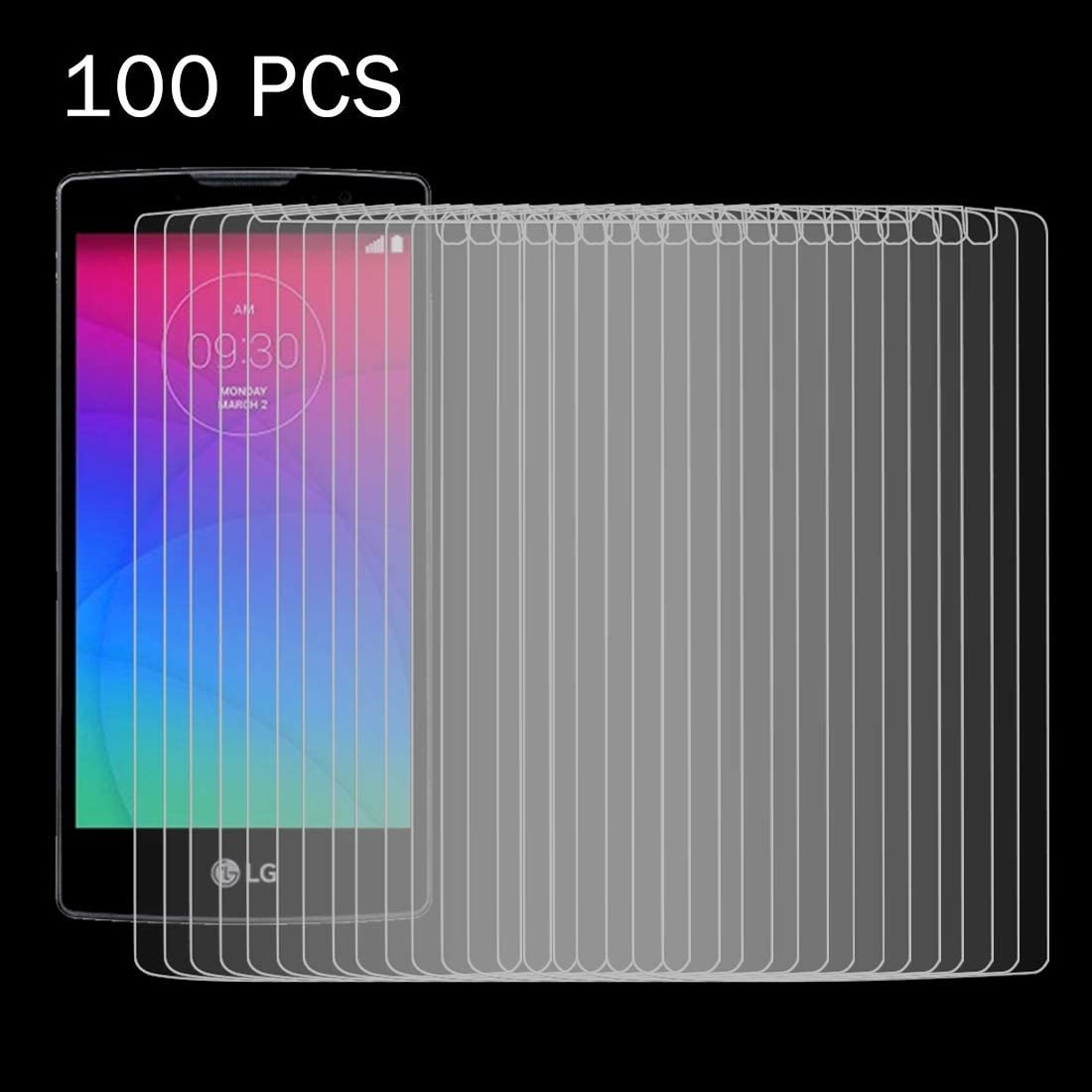 Surface Hardness 2.5D Explosion-Proof Tempered Glass Film ZYS Screen Protector 100 PCS for LG Joy 0.26mm 9H