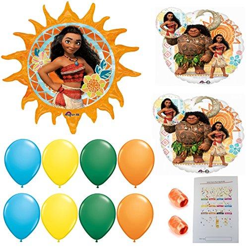Disney Moana Party Balloons - Moana Shop