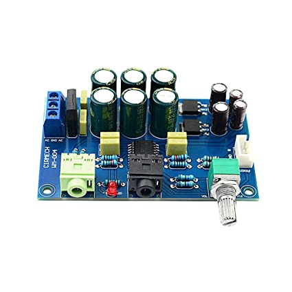 Amazon.com: TOOGOO Tpa6120 Headphone Amplifier Board HiFi ...
