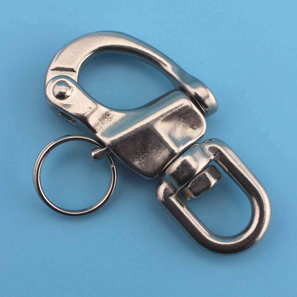 Ochoos 70mm316stainless Steel Swivel snap Shackle/Marine hardawre/Boat Hardware