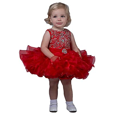 HZCQ Baby Girls' Pageant Party Infant Cupcake Dresses