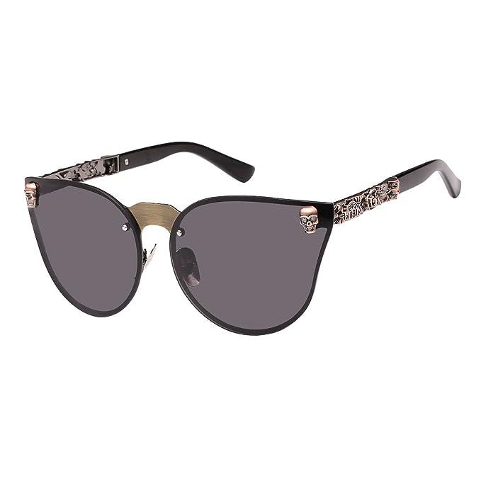 anteojos de sol para mujer con diseño de calavera de GIRL de Royal GIRL 367c78894311