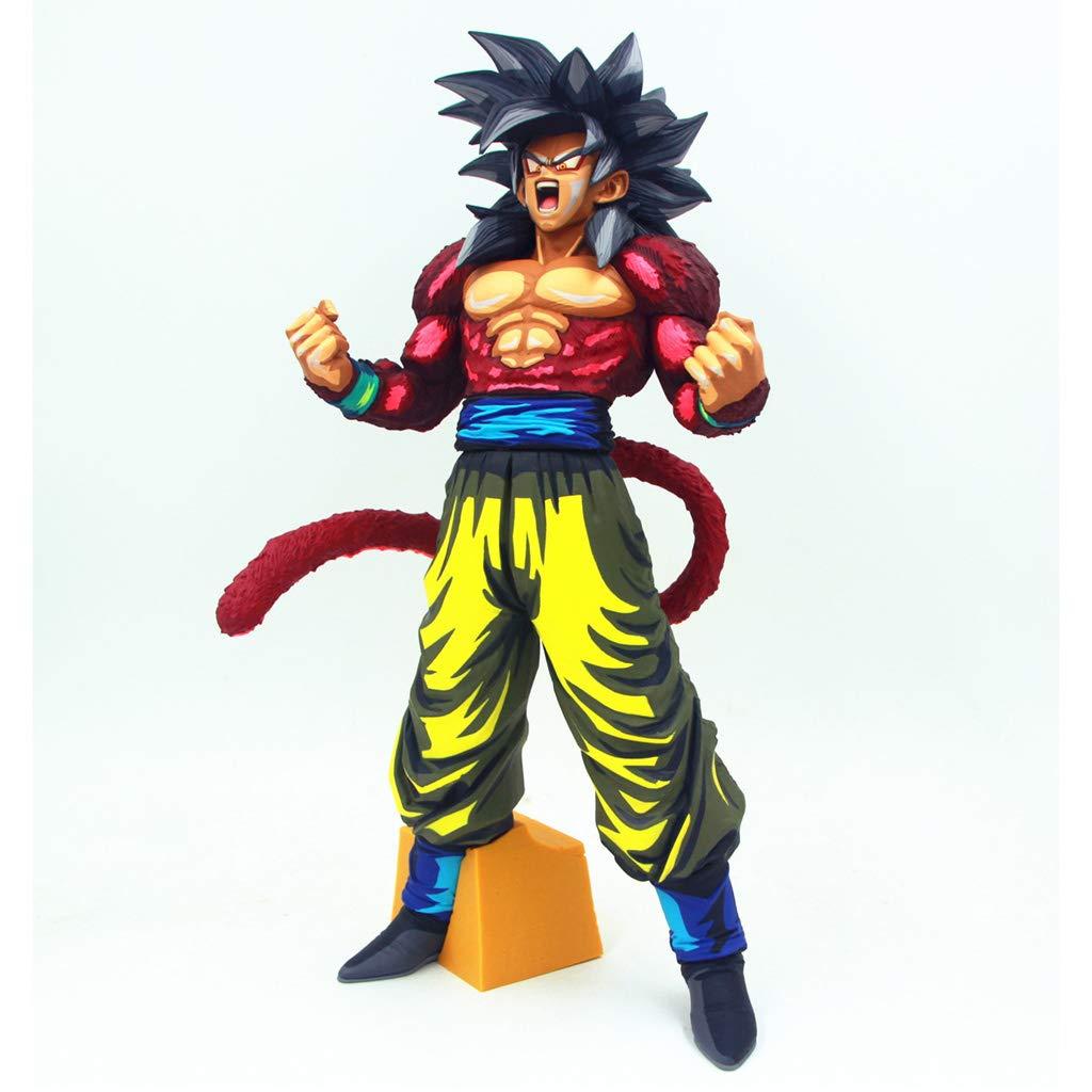 WXFO Spielzeugstatuen-Spielzeug-Modell-Zeichentrickfilm-Figur-Sammlung Handwerk 4CM Komische Farbe Anime-Modell