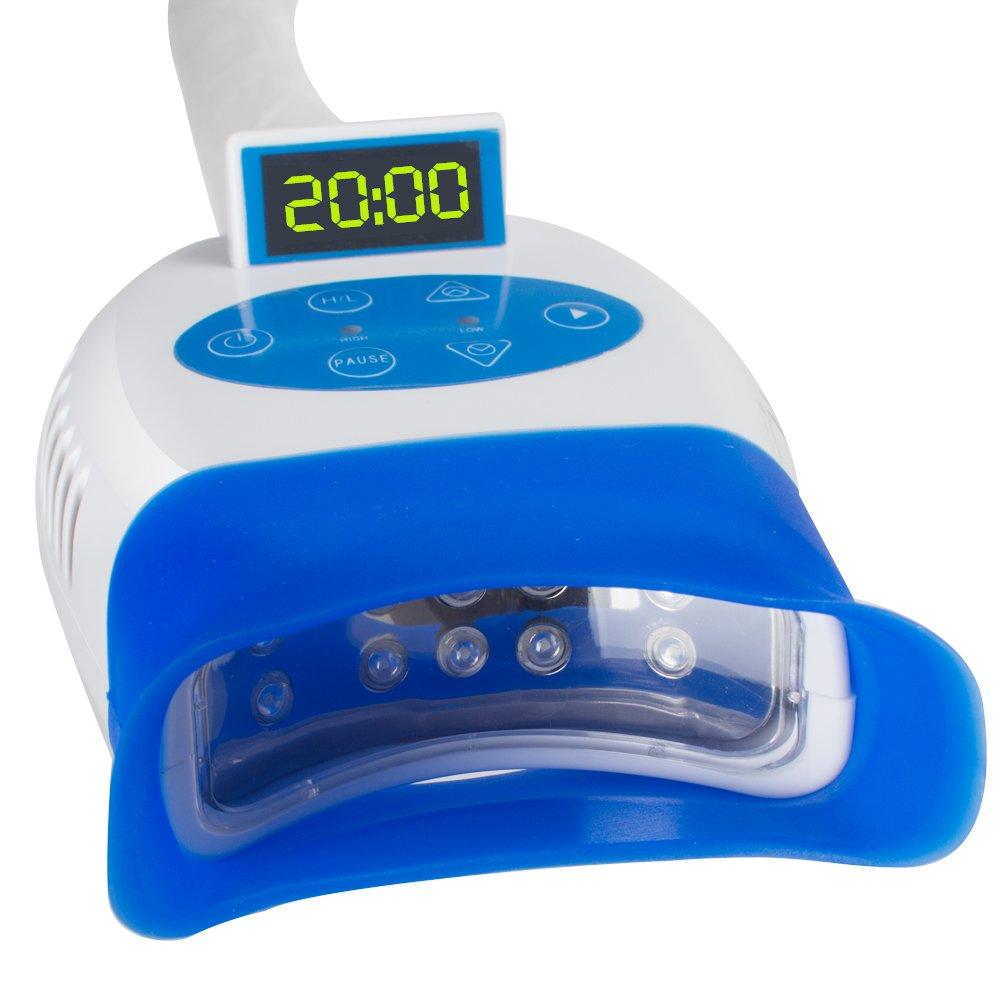 Zorvo Mobile LED Dental Teeth Whitening Bleaching Light Lamp Machine Accelerator Teeth Whitening Light for iPhone, Android Oral Care by Zorvo (Image #4)