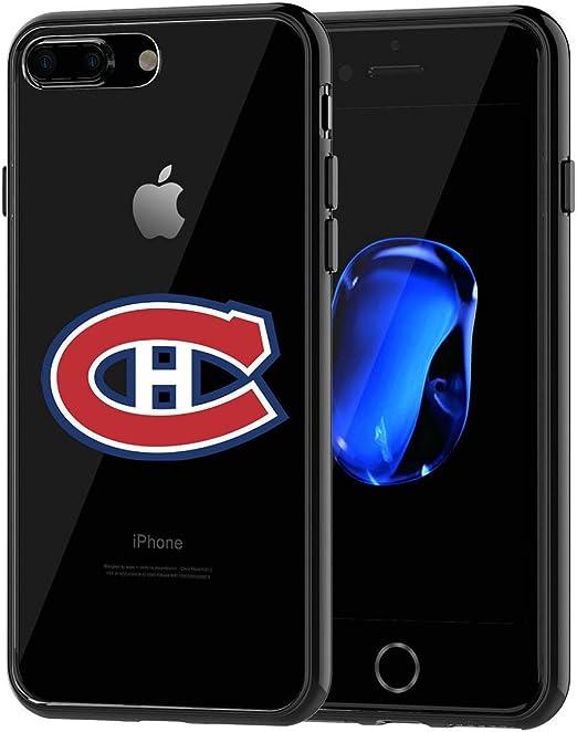 Coque en TPU pour iPhone 7 Plus Canadiens de Montréal iPhone 7 Plus Coque arrière en caoutchouc