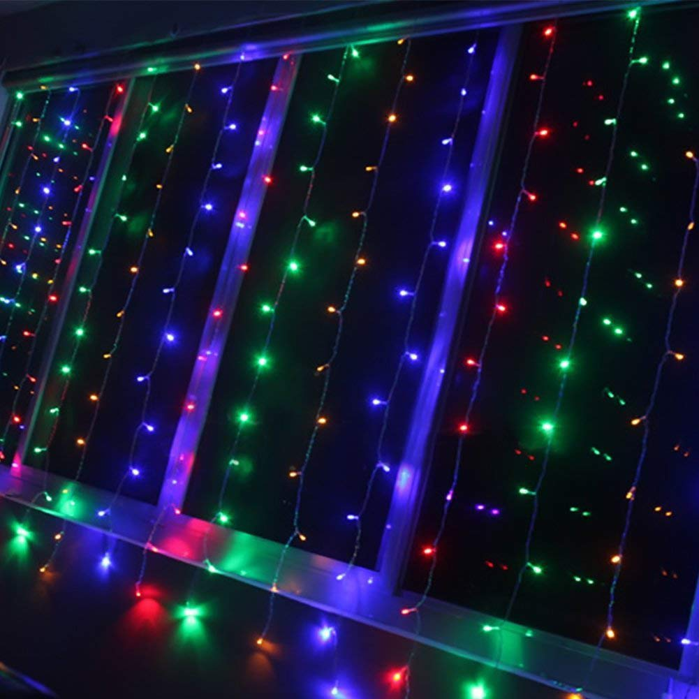 Linkable LED String Lights Holiday Home Fairy Multifunction Wedding College Dorm Room Craft Decoration Expandable Rope Lights (300 Micro LEDs)