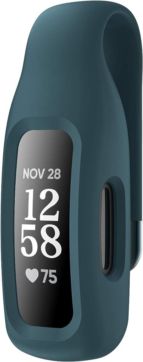 EEweca Clip Case Accessory for Fitbit Inspire 2 Black
