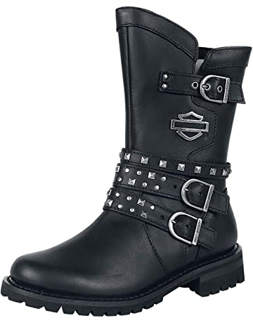 Harley Davidson Adrian Boots Black de11d6113