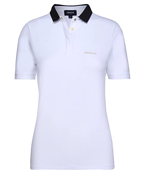 Armani Jeans 3Y5M515JZKZ Polo, Blanco (Bianco Ottico), 52 para ...