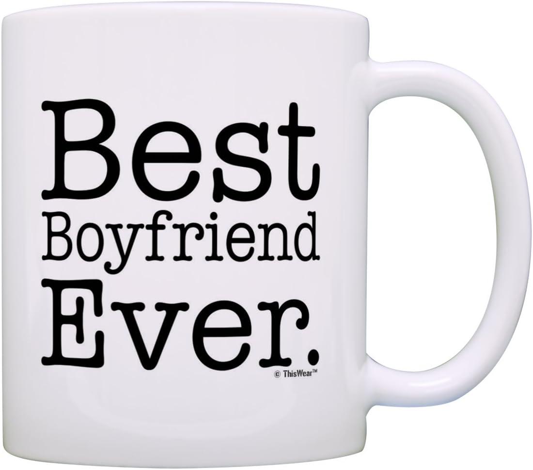 Best Boyfriend Ever Couple Dating Coffee Tea Ceramic Mug Office Work Cup