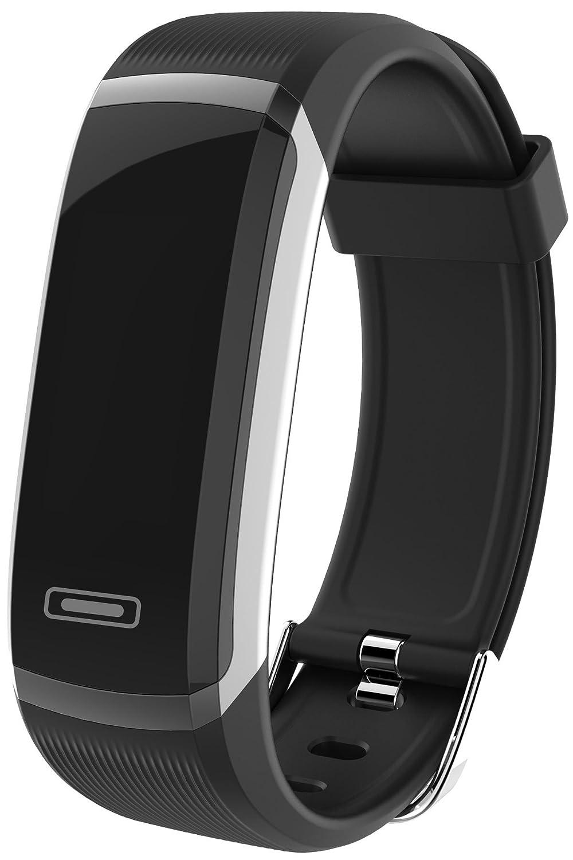 Fitness tracker BluetoothハートレートモニタースリープActivity Trackerカロリーカウンター歩数計ウォッチスマートブレスレット   B07BNCNTY7