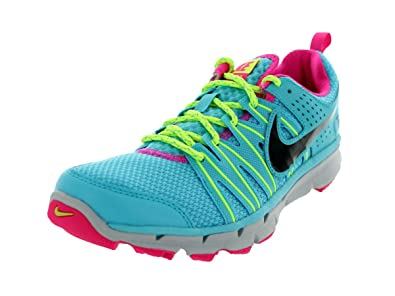 Amazon.com | Nike Women's Flex Trail 2 Size US 6 Gamma Blue / Black-Volt- Pink Foil | Running