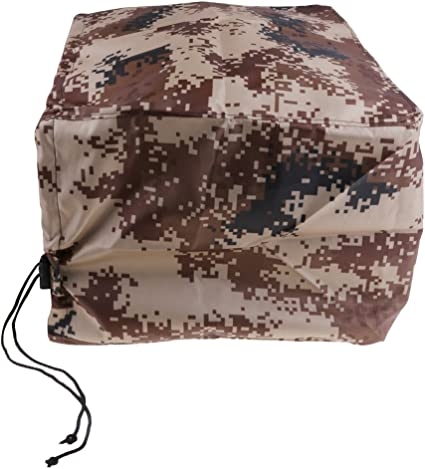 Camo Waterproof Boat Outboard Motor Protector Cover for 2-5 HP Engines