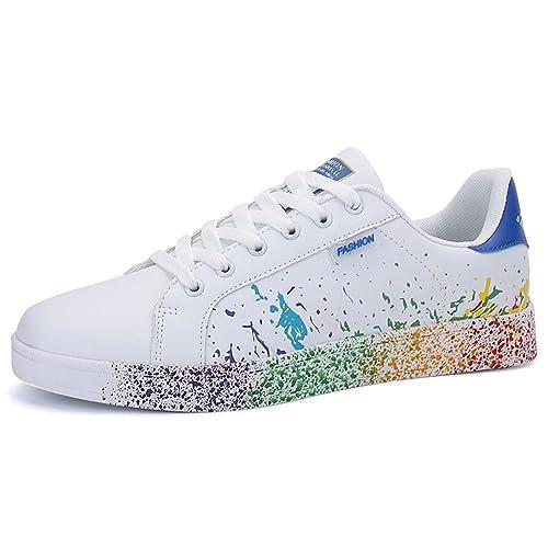 Zapatillas de Deporte Hombre Gimnasio Fitness Unisex Adulto Cordones: Amazon.es: Zapatos y complementos
