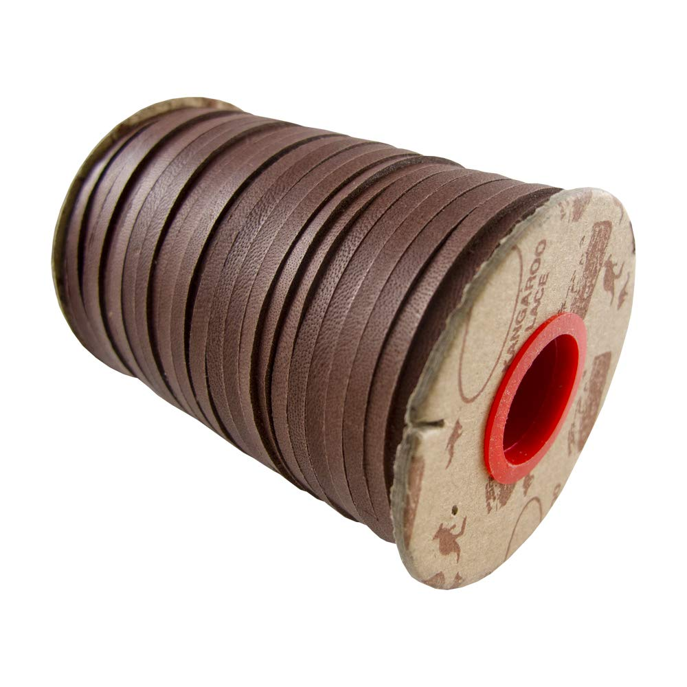 Springfield Leather Company Earth Tone Kangaroo Lace LHG Tan, 3//32 10 Yards