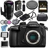 Panasonic Lumix DC-GH5 DC-GH5KBODY Mirrorless Micro Four Thirds Digital Camera Leica DG Elmarit 200mm f/2.8 POWER O.I.S. Lens Bundle