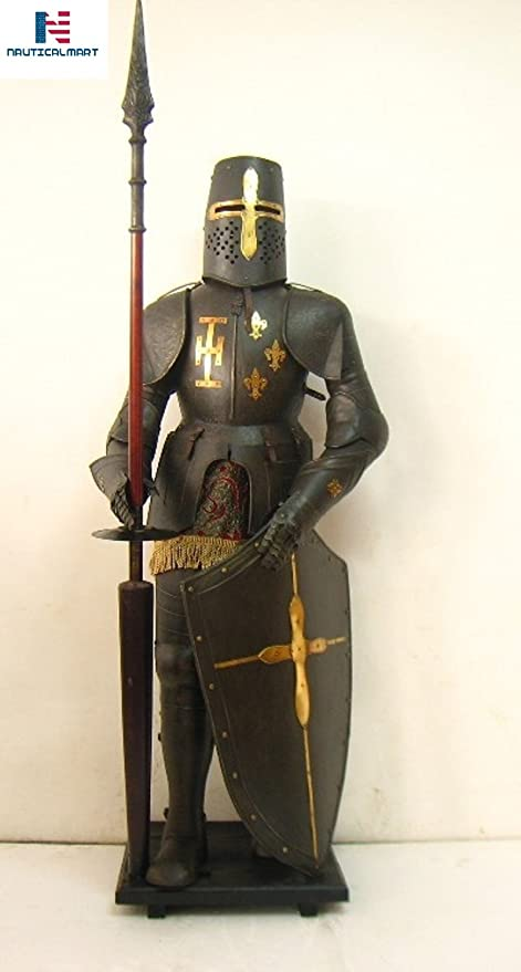 Amazon.com  NAUTICALMART Medieval Wearable Knight Crusader