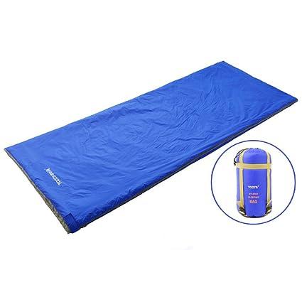 hdsmart pequeño y ligero y cómodo impermeable al aire libre Camping saco de dormir bolsa de