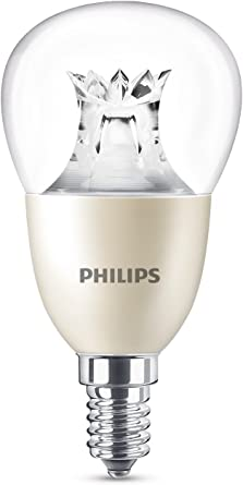 Image ofPhilips Warmglow - Bombilla LED, casquillo E14, 8 W, cambia entre 3 tonalidades de blanco, requiere regulador, regulable           [Clase de eficiencia energética A++]