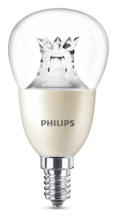 Philips Bombilla Gota E14 LED, 3 60 W