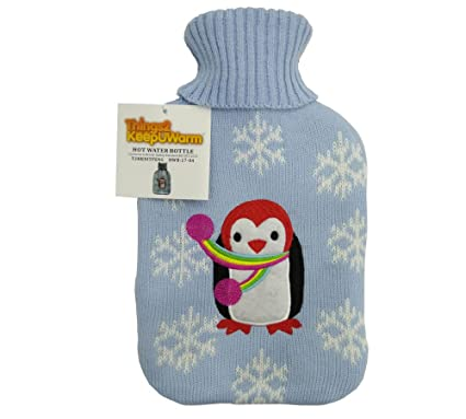 Bolsas de agua caliente - Things2KeepUwarm- Con forro de felpa y diseño de animales